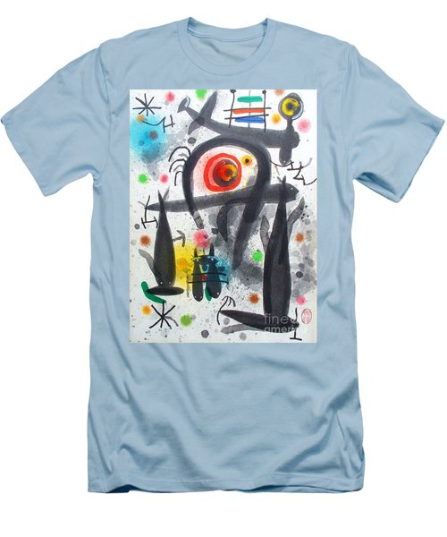 Acuatico Triunfo De La Imaginacion Men's T-Shirt (Athletic Fit)