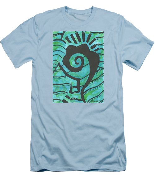 African Question Mark Men's T-Shirt (Athletic Fit)