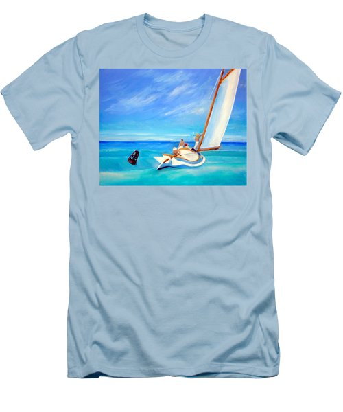 After Hopper- Sailing Men's T-Shirt (Athletic Fit)