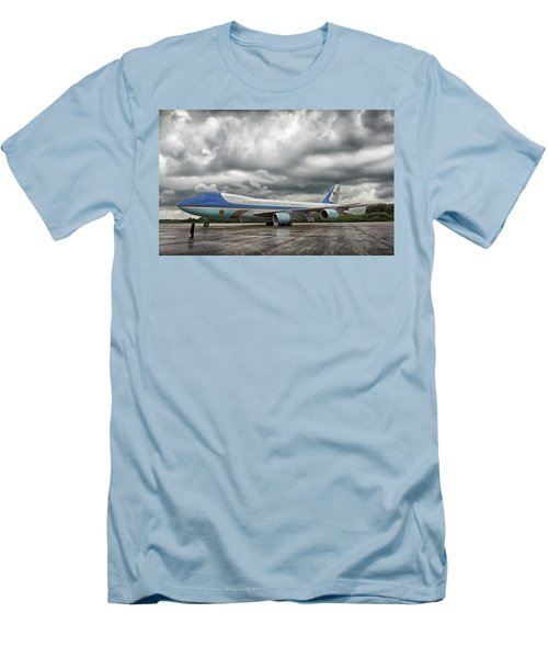 Air Force One Men's T-Shirt (Slim Fit) by Mountain Dreams