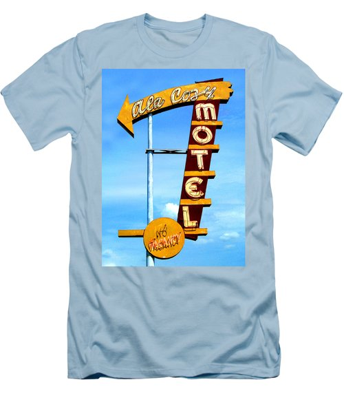 Ala Cozy Motel Men's T-Shirt (Athletic Fit)