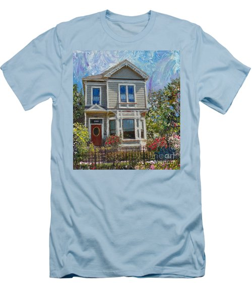 Alameda 1892 Queen Anne Men's T-Shirt (Athletic Fit)