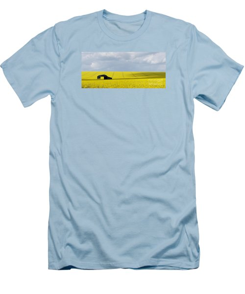 All Across The Land 7 Men's T-Shirt (Slim Fit) by Wendy Wilton