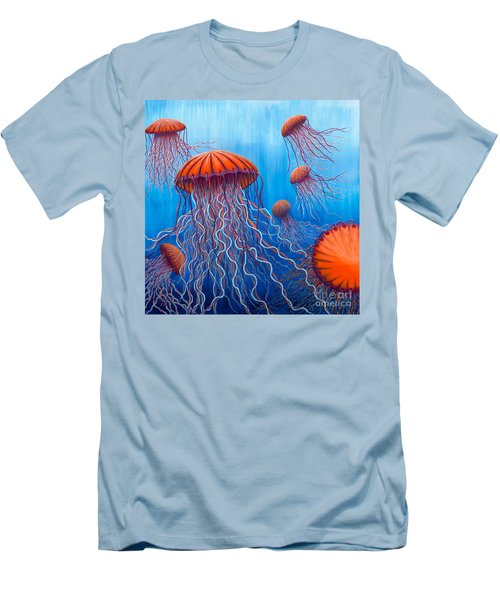 Ally's Orange Jellies Men's T-Shirt (Athletic Fit)