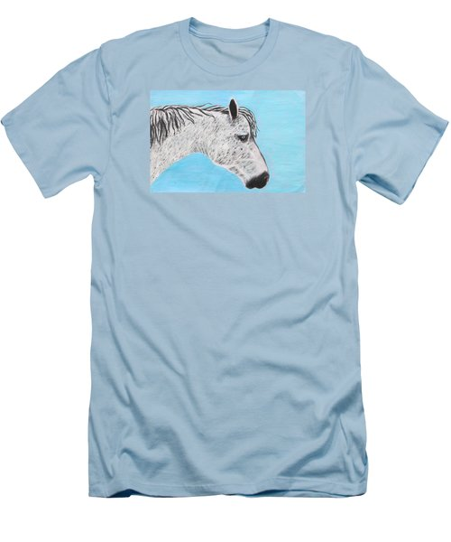 Alvaro Stallion Men's T-Shirt (Athletic Fit)