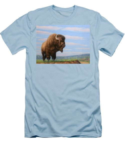 American Bison Men's T-Shirt (Athletic Fit)