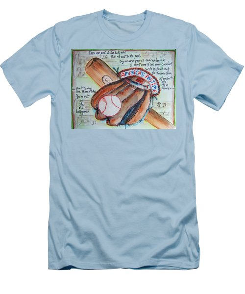 Americas Pastime II Men's T-Shirt (Athletic Fit)