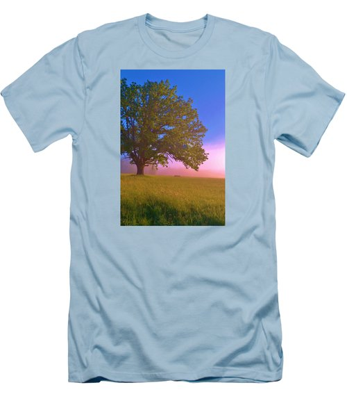 An All-american Sunrise Men's T-Shirt (Athletic Fit)