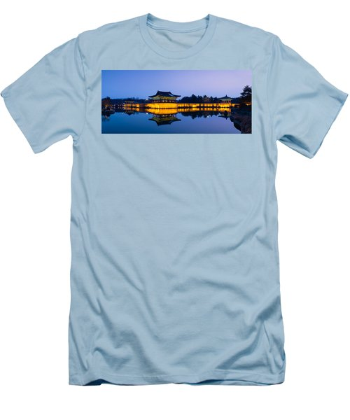 Anapji Pond At Dusk Men's T-Shirt (Athletic Fit)