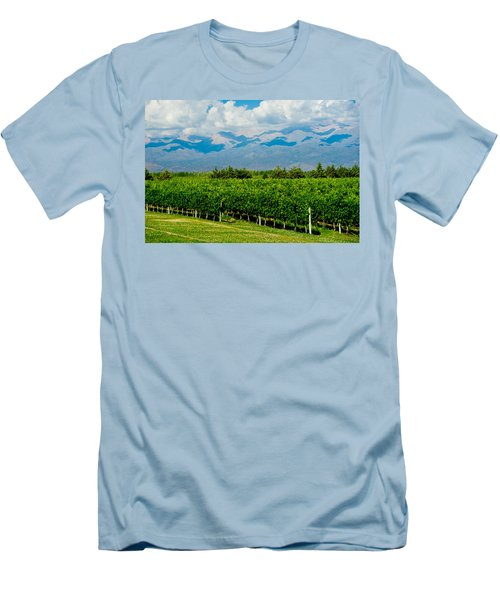 Andes Vineyard Men's T-Shirt (Athletic Fit)