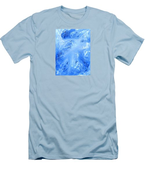 Angels In The Sky Iv Men's T-Shirt (Slim Fit) by Kume Bryant