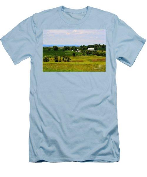 Antietam Battlefield And Mumma Farm Men's T-Shirt (Slim Fit) by Patti Whitten