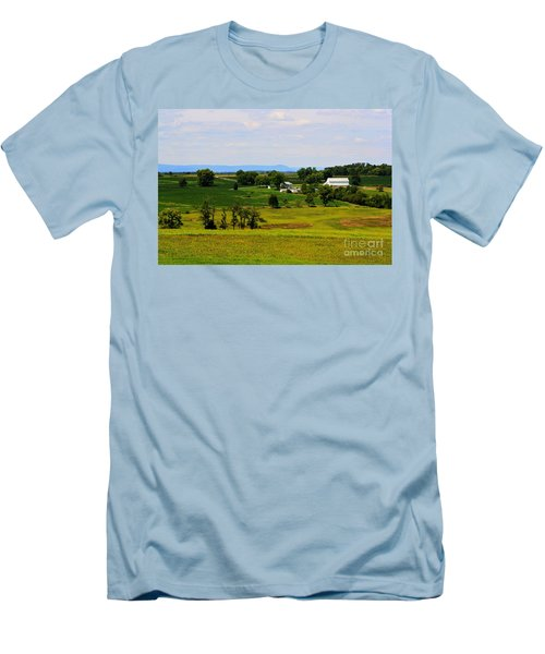 Antietam Battlefield And Mumma Farm Men's T-Shirt (Athletic Fit)