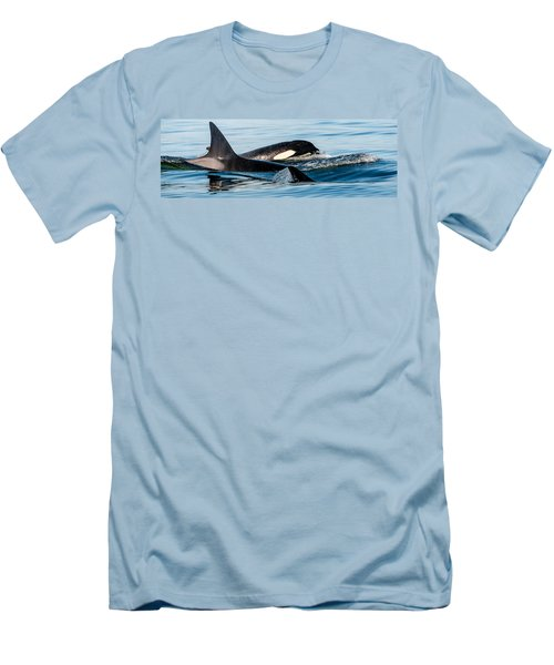 Aquatic Immersion Men's T-Shirt (Slim Fit) by Roxy Hurtubise