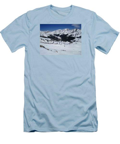 Arapahoe Basin June 2  Men's T-Shirt (Athletic Fit)