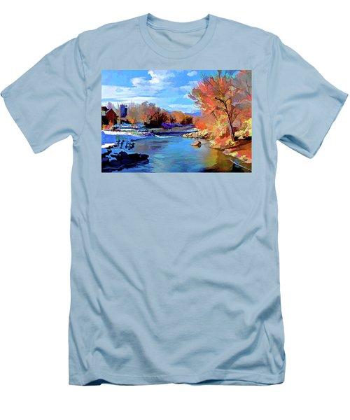 Arkansas River In Salida Co Men's T-Shirt (Athletic Fit)