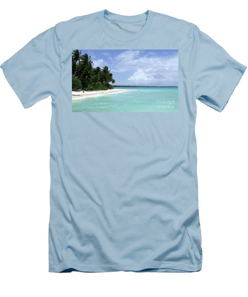 Men's T-Shirt (Slim Fit) featuring the photograph Arno Island by Andrea Anderegg