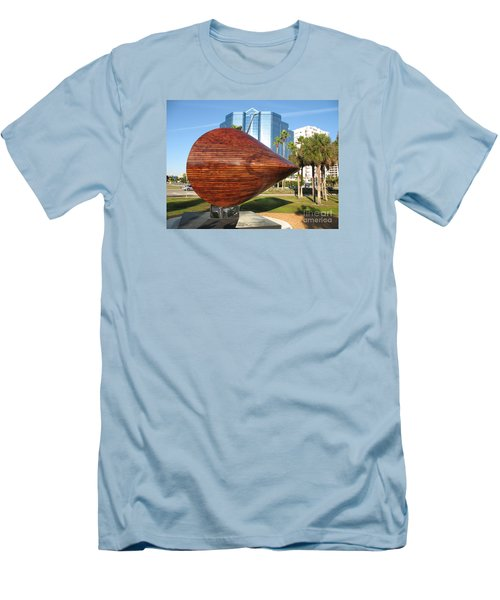 Art 2009 At Sarasota Waterfront Men's T-Shirt (Slim Fit) by Christiane Schulze Art And Photography