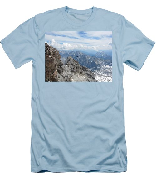 Men's T-Shirt (Slim Fit) featuring the photograph As The Crow Flies by Pema Hou