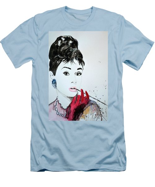 Audrey Hepburn - Original Men's T-Shirt (Athletic Fit)
