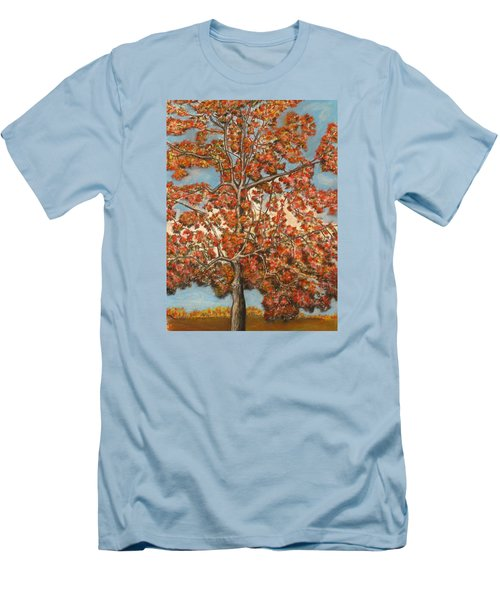 Autumn Tree Men's T-Shirt (Athletic Fit)
