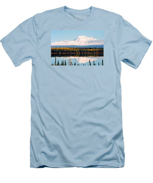 Autumn View Of Mt. Drum - Alaska Men's T-Shirt (Athletic Fit)