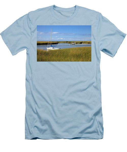 Men's T-Shirt (Slim Fit) featuring the photograph Awaiting Adventure by Gordon Elwell