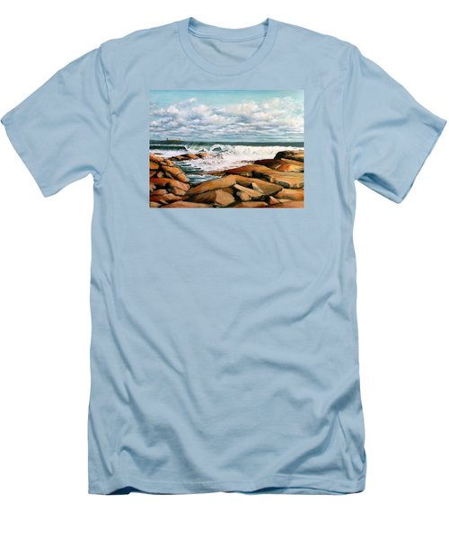 Back Shore Gloucester Men's T-Shirt (Athletic Fit)
