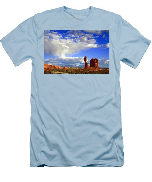 Balanced Rock Men's T-Shirt (Athletic Fit)