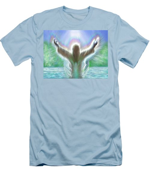 Baptism Of Yshuah Men's T-Shirt (Athletic Fit)