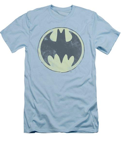 Batman - Old Time Logo Men's T-Shirt (Athletic Fit)