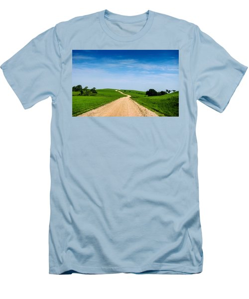 Battle Creek Road From The Saddle Men's T-Shirt (Athletic Fit)