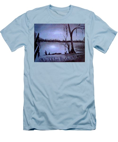Bayou Dreams Men's T-Shirt (Athletic Fit)