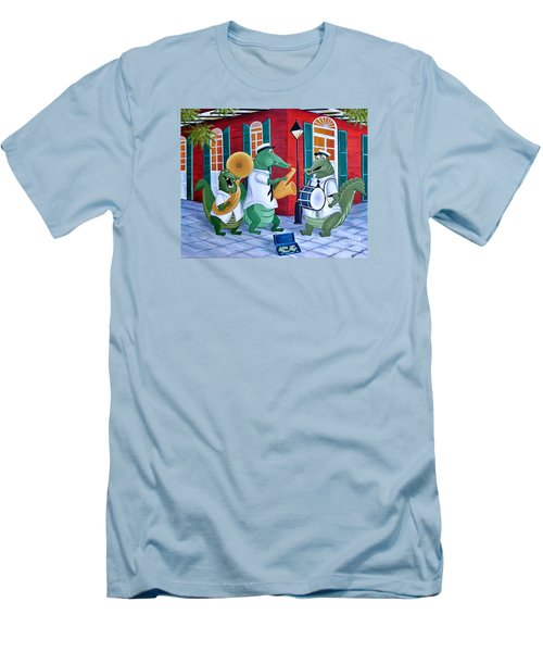 Bayou Street Band Men's T-Shirt (Athletic Fit)