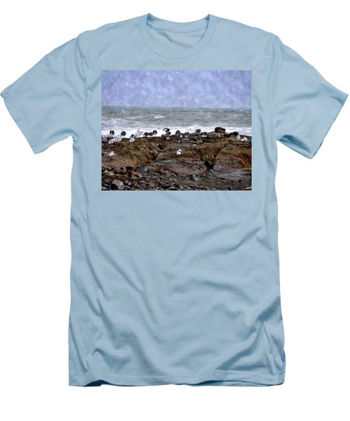 Beach Goers Bgwc Men's T-Shirt (Athletic Fit)