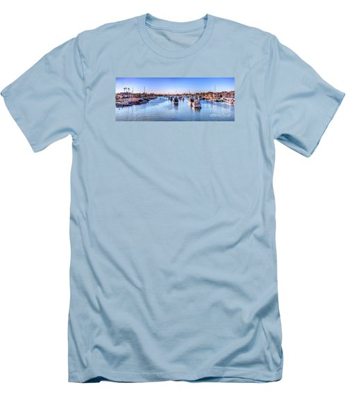 Men's T-Shirt (Slim Fit) featuring the photograph Beacon Bay by Jim Carrell