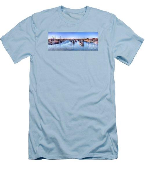 Beacon Bay Men's T-Shirt (Slim Fit) by Jim Carrell