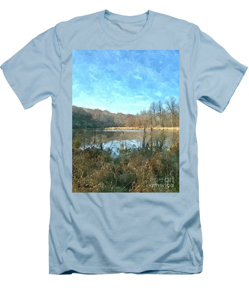 Men's T-Shirt (Slim Fit) featuring the photograph Beautiful Day 2 by Sara  Raber