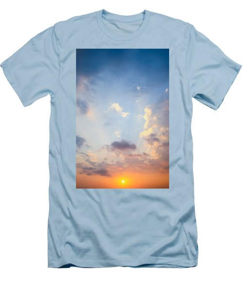 Beautiful Orange Sunset Men's T-Shirt (Athletic Fit)