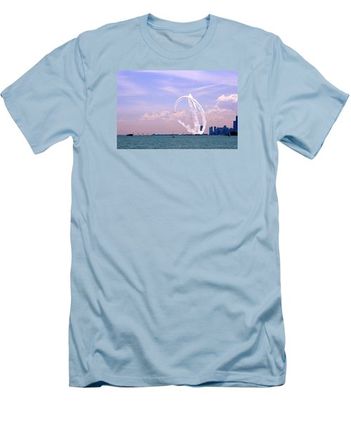 Beauty In The Air Men's T-Shirt (Athletic Fit)