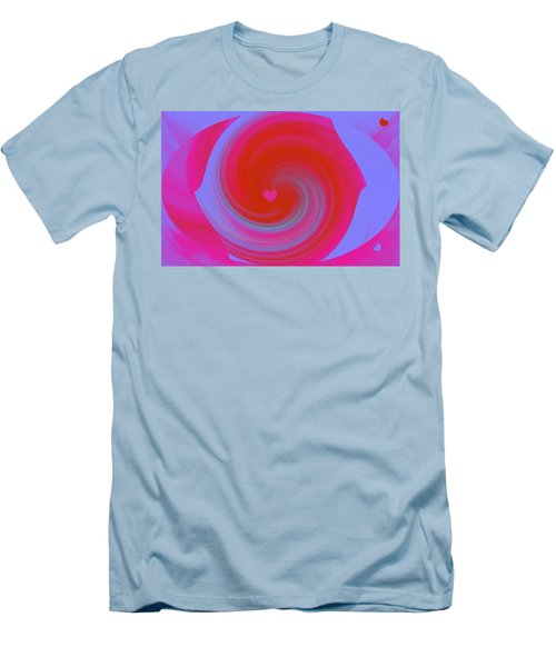 Men's T-Shirt (Slim Fit) featuring the digital art Beauty Marks by Catherine Lott