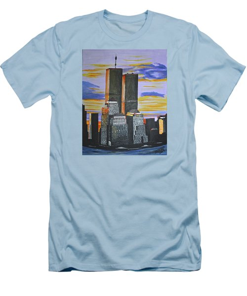 Before The Fall Men's T-Shirt (Slim Fit) by Donna Blossom