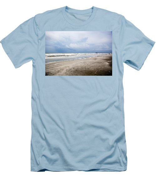 Men's T-Shirt (Slim Fit) featuring the photograph Before The Storm by Sennie Pierson