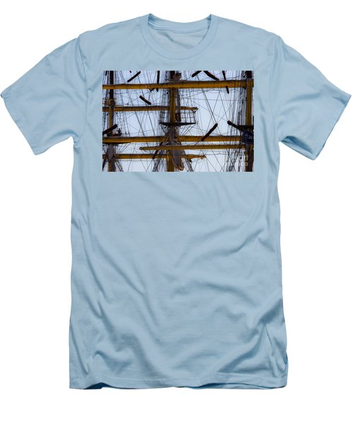 Between Masts And Ropes Men's T-Shirt (Athletic Fit)