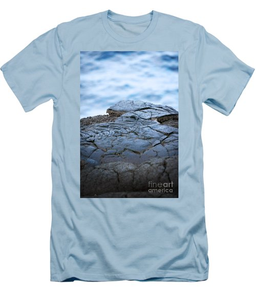 Men's T-Shirt (Slim Fit) featuring the photograph Between You And Me by Ellen Cotton