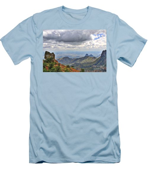Big Bend National Park Men's T-Shirt (Athletic Fit)
