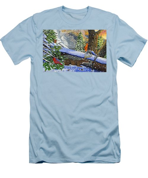 Big Timber Buck Men's T-Shirt (Athletic Fit)