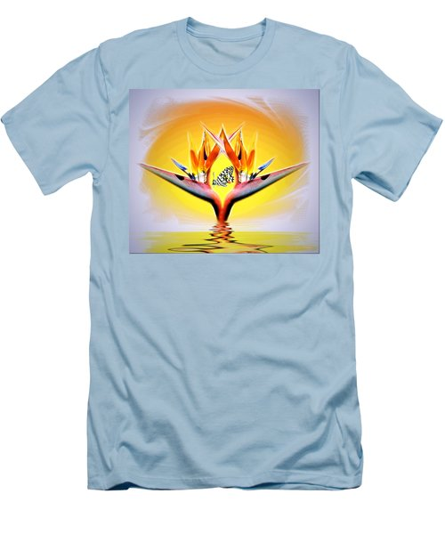 Men's T-Shirt (Slim Fit) featuring the photograph Bird Of Paradise by Joyce Dickens