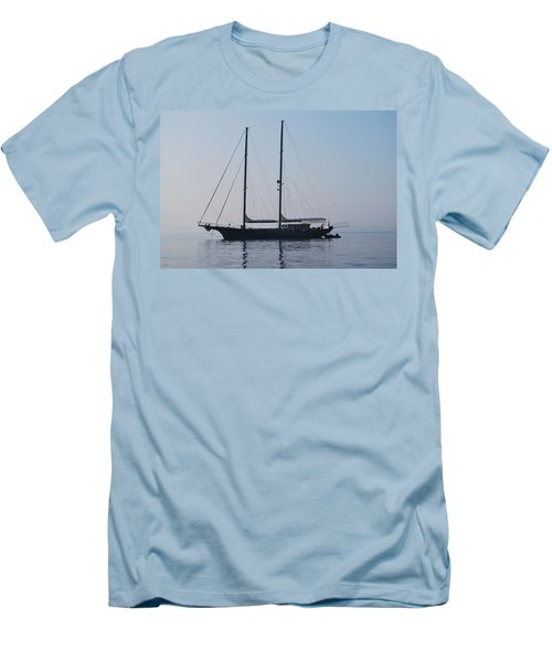Black Ship 1 Men's T-Shirt (Athletic Fit)