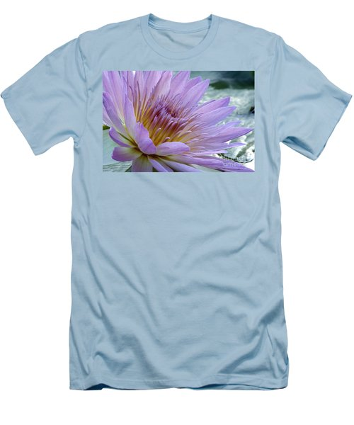 Bloom's Blush Men's T-Shirt (Slim Fit) by Alycia Christine